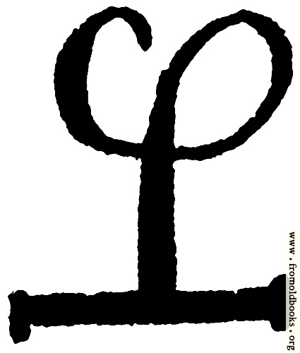 [Picture: Astrological symbols for Thursday: Angelic Sigil for Sachiel]