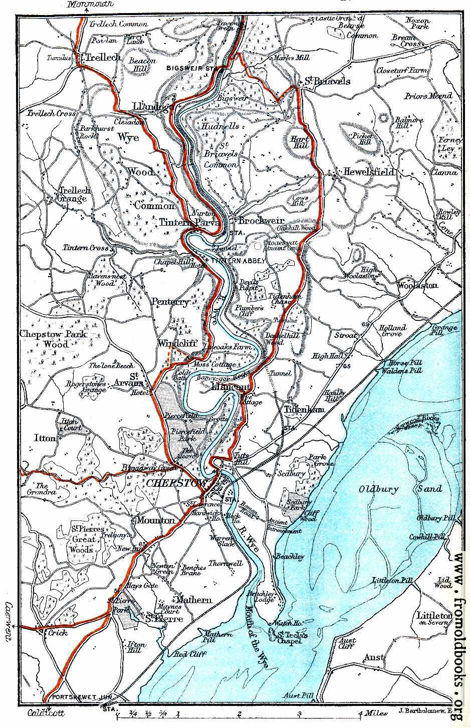 Map river wye chepstow etc 938x1452 317k jpg free download gumiabroncs Choice Image