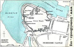 [picture: Pembroke Castle (Plan)]