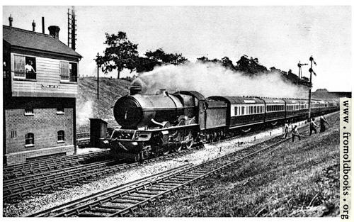 "[Picture: 33.—""Cornish Riviera Express"" – Great Western Railway]"