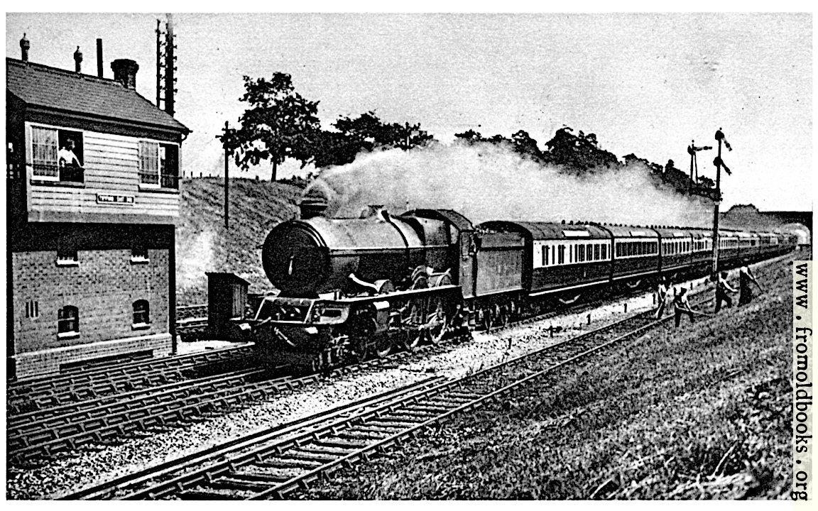 "[Picture: 33.—""Cornish Riviera Express"" – Great Western Railway]"
