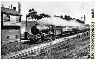 [picture: 33.---``Cornish Riviera Express'' – Great Western Railway]