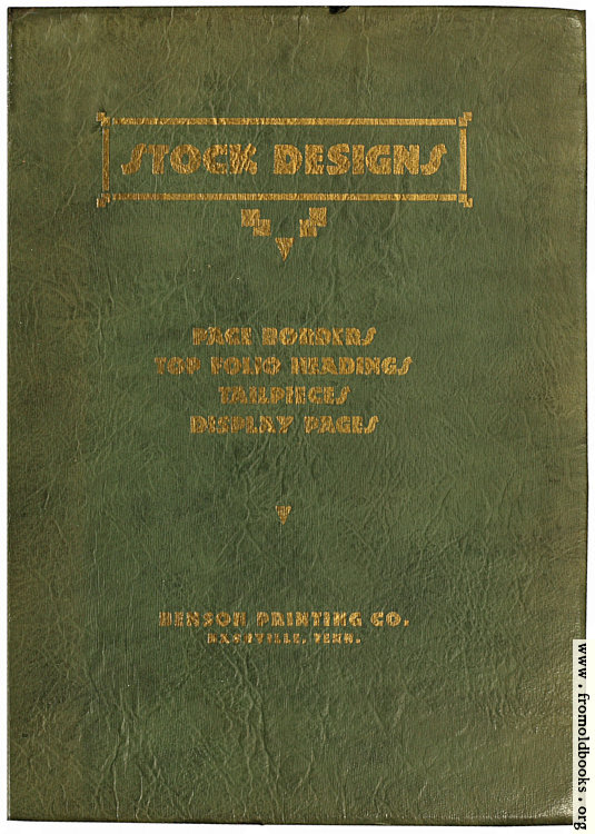 [Picture: Front Cover, Benson Stock Images]