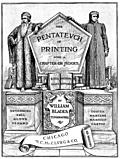 [picture: Title Page, Pentateuch of Printing]
