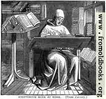 [picture: Scriptorium Monk at Work]