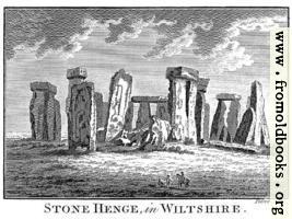 Stone Henge in Wiltshire, wallpaper version