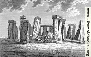Stone Henge in Wiltshire, wide-screen version