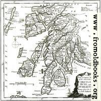 A New & Correct MAP of the Counties of Argyle, Bute and Dumbarton