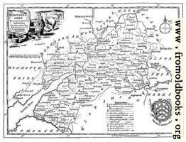 Eighteenth-Century Map of Gloucestershire