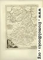 [Picture: Antique Map of Cambridgeshire]