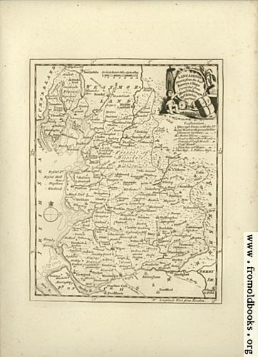 [Picture: Antique Map of Lancashire]