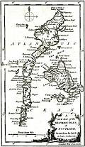 [picture: Antique Eighteenth-Century Map of the Western Islesof Scotland]