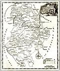 [picture: Antique Eighteenth-Century Map of Bedfordshire]