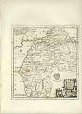 Antique Map of Cumberland