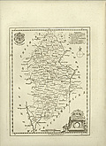 [picture: Antique Map of Staffordshire]