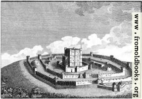 [picture: The Mode in which Antient Castles were generally built. (version with no caption)]