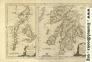 [picture: Antique Map of Argyle, Bute and Dumbarton, in Scotland]