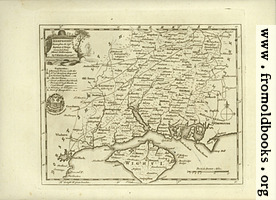 [picture: Antique Map of Hampshire]