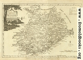 [picture: Antique Map of Munster]