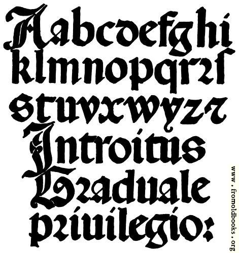 [Picture: 141.—Italian Round Gothic Small Letters.  16th Century.]
