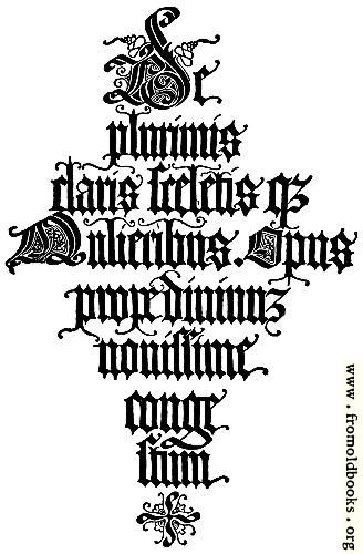 [Picture: 147.—Italian Blackletter Title-Page.  Jacopus Foresti, 1497.]