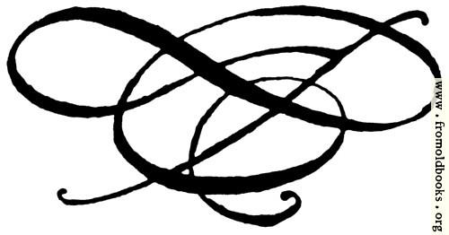 [Picture: Calligraphic flourish]