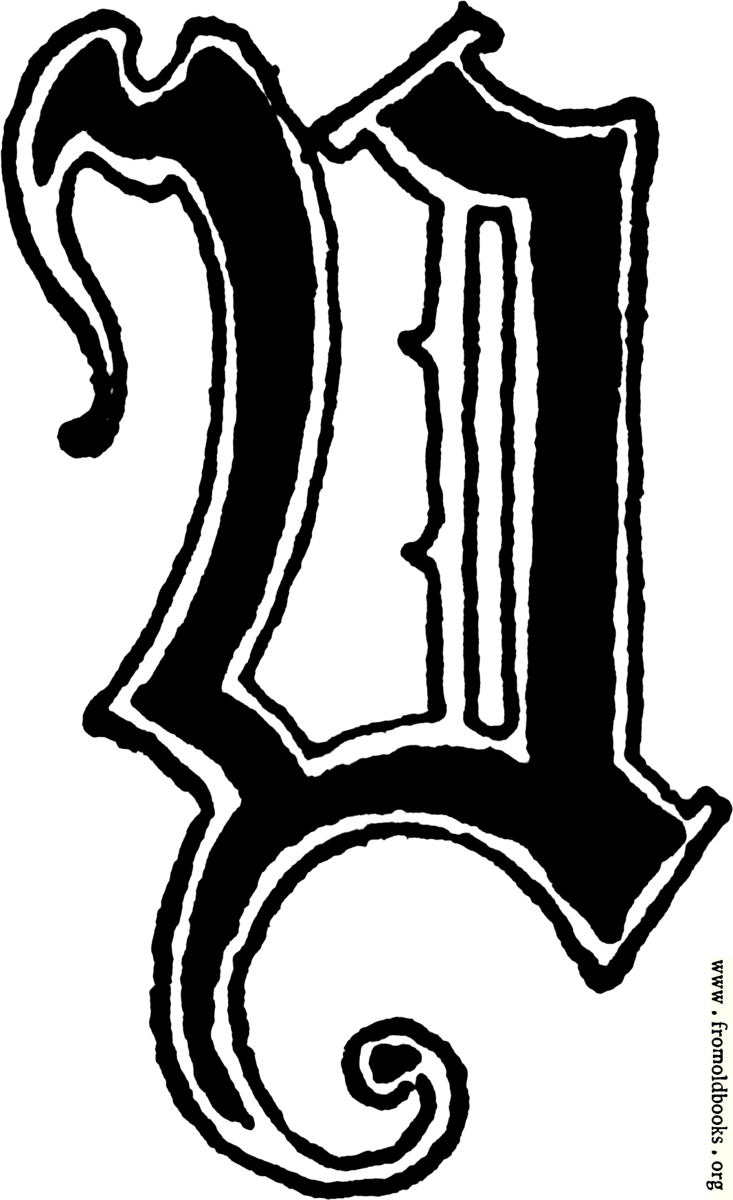 Calligraphic letter y in 15th century gothic style 1067x1745 216k jpg free download altavistaventures Image collections
