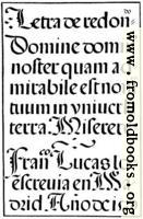 [picture: 143.---Spanish Round Gothic Letters.  Francisco Lucas, 1577]