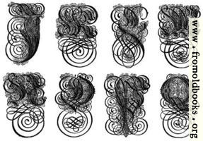 [picture: 168.---German Gothic Initials (J to Q)]