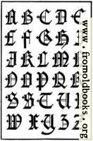 [picture: 171.---English Gothic Capitals.  16th Century.]