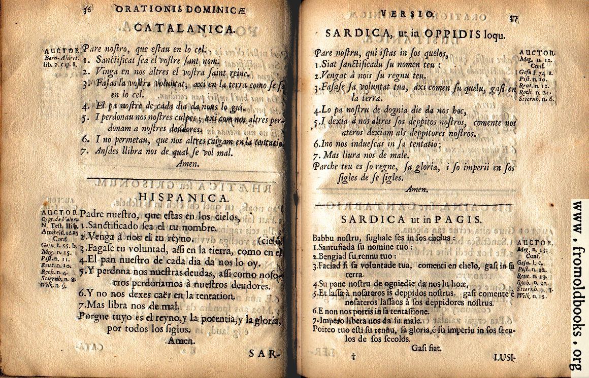 [Picture: 37: Sardica, ut in Oppidis loqu., Sardica ut in Pagis (JPEG, includes p.36)]