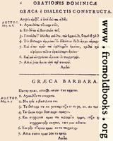 [picture: 06: Græca è Dialectis constructa; Græca Barbara]