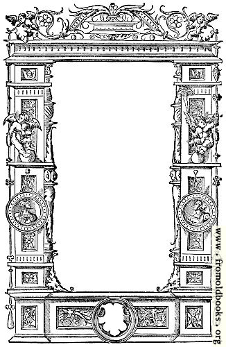 [Picture: 8.—Ornate Renaissance Border (1536)]