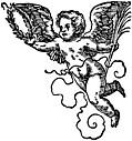 68b.—Printer's Mark Detail: Jost Ammon Cherub 1