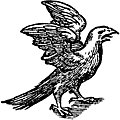 [picture: 68b.---Printer's Mark Detail: feathered eagle]