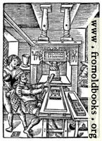 [picture: 8.---Detail: Printing Page Woodcut]