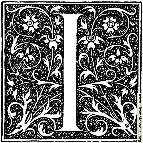 [Picture: Decorative initial letter I]