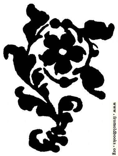 [Picture: Printer's Flower from Title Page]
