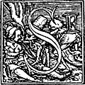 """[Picture: 62s.—Initial capital letter """"S"""" from Dance of Death Alphabet.]"""