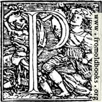 [picture: 62p.---Initial capital letter ``P'' from Dance of Death Alphabet.]