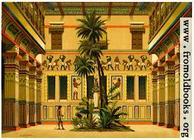 Courtyard of an Egyptian House