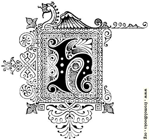 [Picture: Decorative initial letter H with dragon]