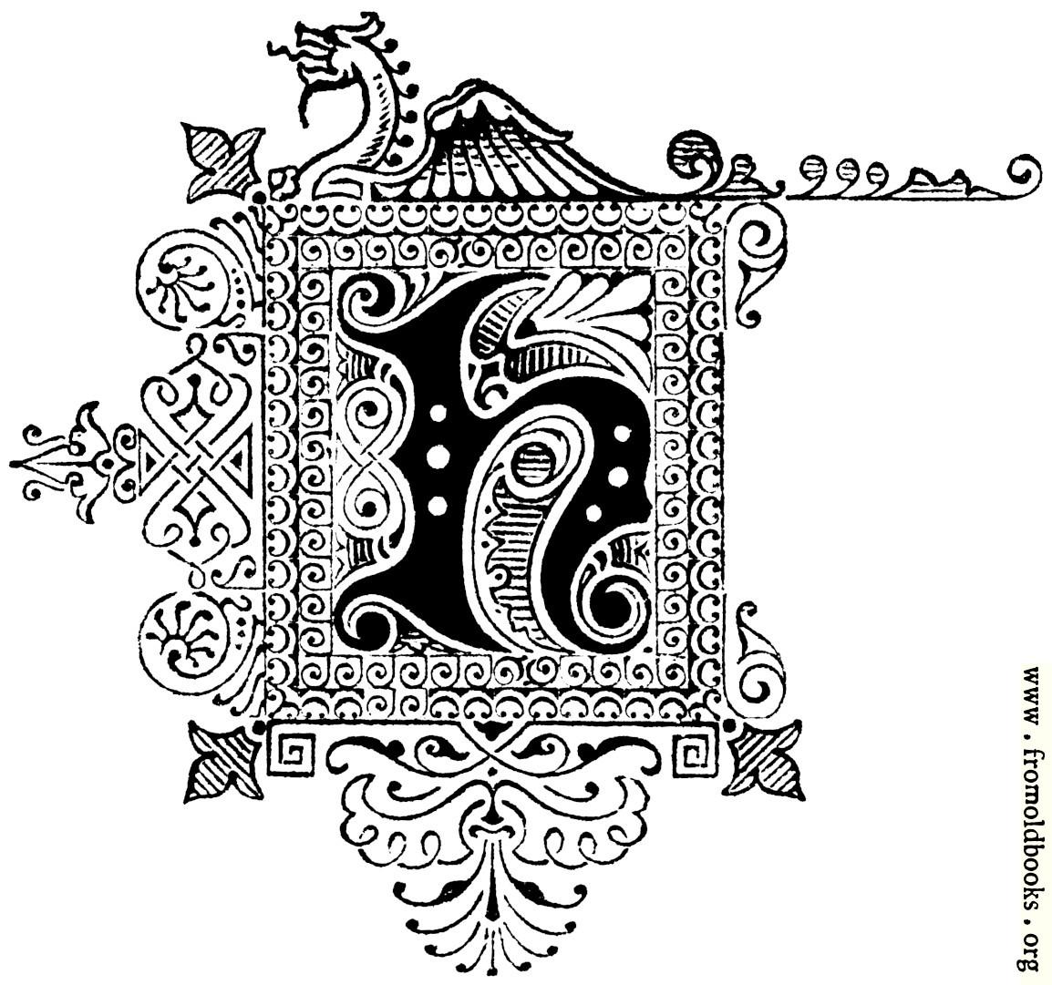 Decorative initial letter h with dragon 1154x1081 280k altavistaventures Choice Image
