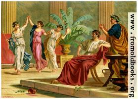 [picture: Greek dances after a meal.]