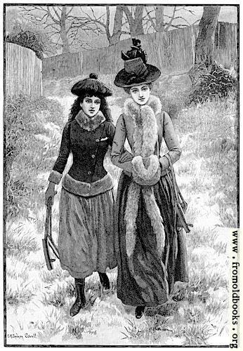 [Picture: Miss Fallutine Preferred to Walk]
