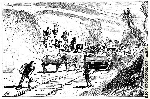 [Picture: A Railway Cutting]