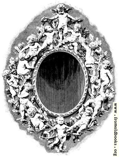 [Picture: Mirror-Frame (A Wood Carving by Panciera Besarel, of Venice)]