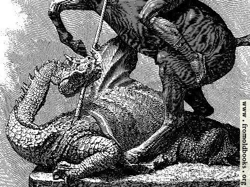[Picture: St. George and the Dragon [detail]]