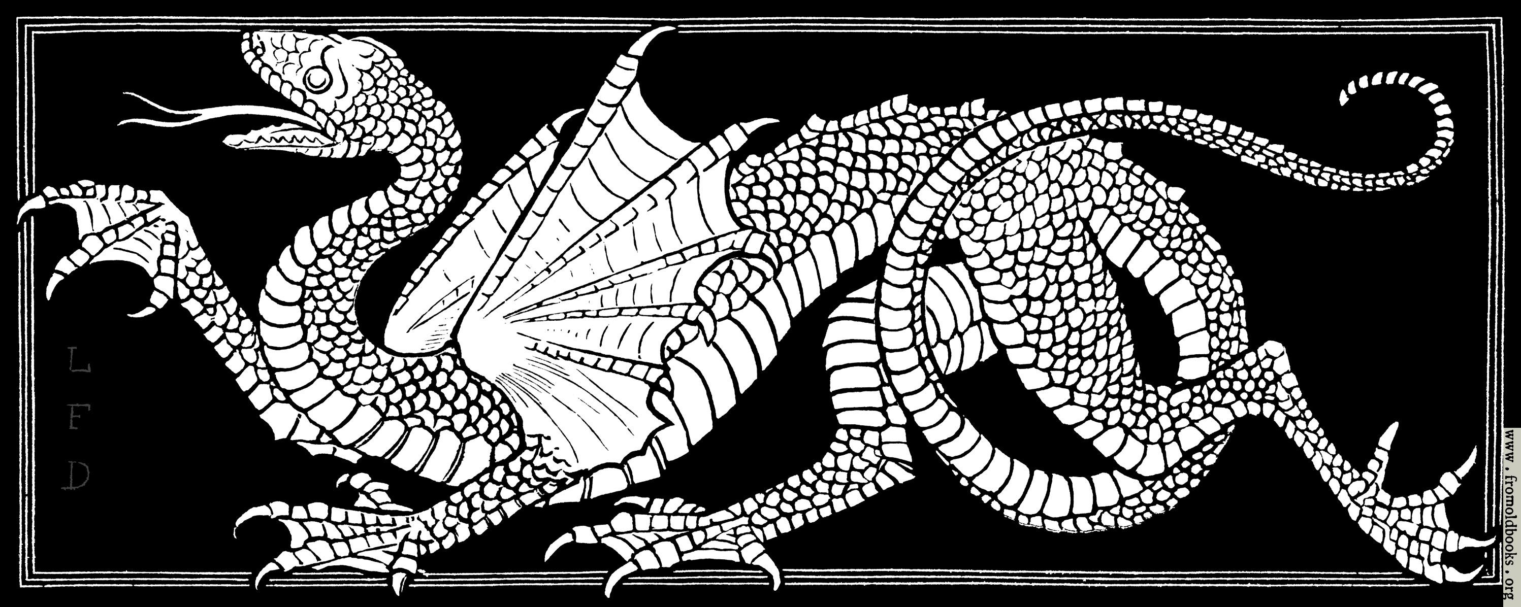 [Picture: Heraldic Dragon.]