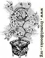 [picture: Initial letter ``t'' as flower in a pot]